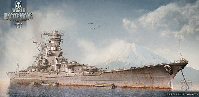 Крейсер Ямато - Япония 1945