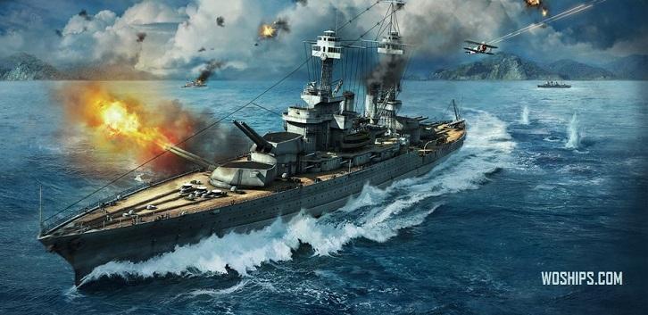Принципы пробития кораблей в World of Warships